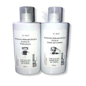 Aromaterapía Solución hidroalcohólica (Shampoo) – Pediculosis – Caída de Cabello Cantidad: 150ml